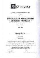Ing. Matěj Kubrt - Česká pojišťovna - Matějova hypotéka
