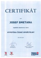 Josef Smetana - Hypotéka České spořitelny - Americká hypotéka - Matějova hypotéka