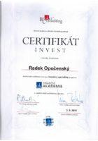 Investiční poradce - Bc. Radek Opočenský - Matějova hypotéka