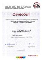 Ing. Matej Kubrt - Vysoka skola - investicni poradce - Matejova hypoteka